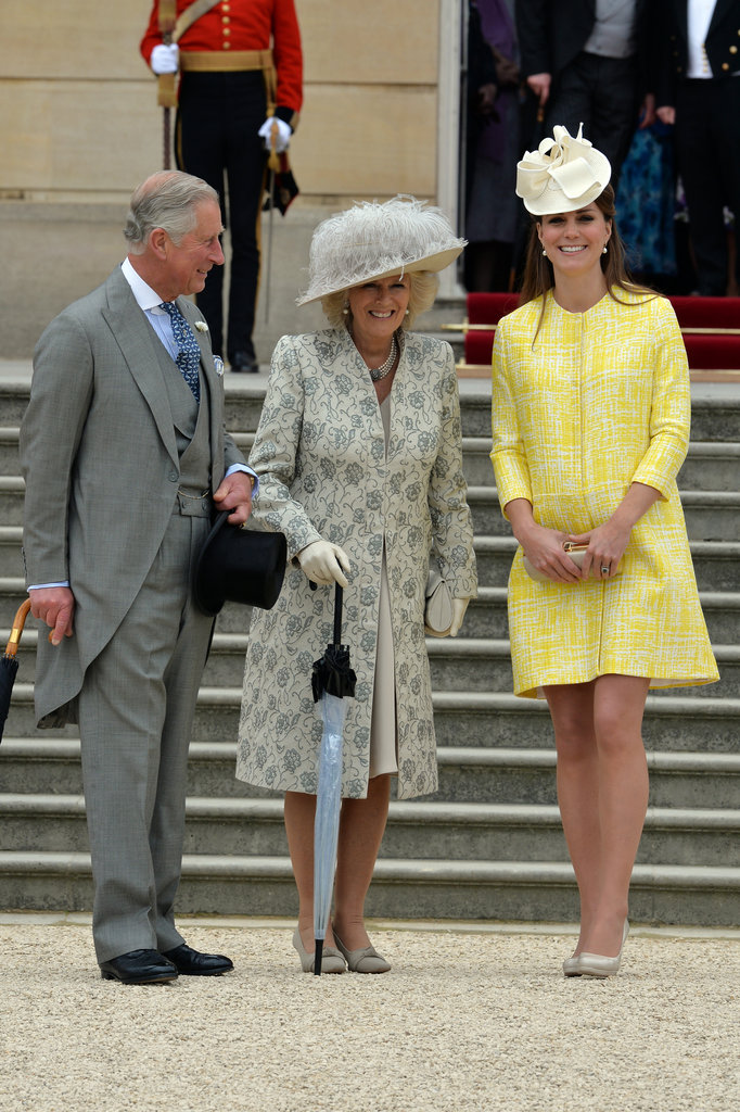 Kate and her royal in-laws enjoyed themselves.