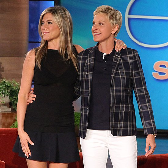 Jennifer Aniston Cohosts The Ellen DeGeneres Show