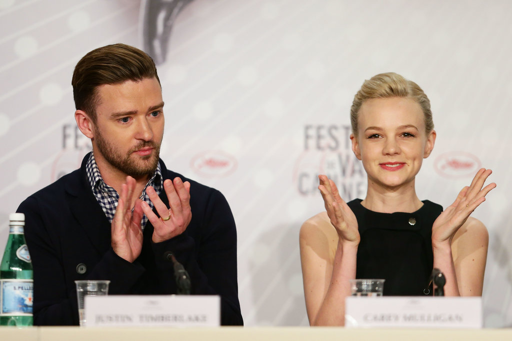 Justin Timberlake and Carey Mulligan attended the Inside Llewyn Davis press conference.