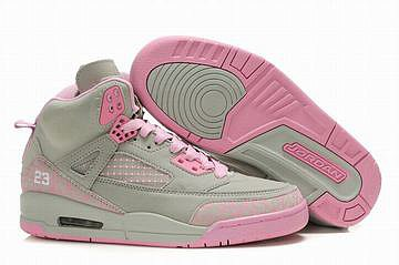Air Jordan 3.5 Retro Grey/Pink Women's 27308