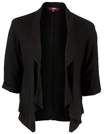 Inspire Black Waterfall Jacket