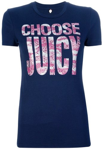 Juicy Couture 'Choose Juicy' t-shirt