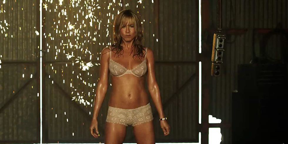 Video: Jennifer Aniston Strips Down and Pole Dances — Plus, Wedding Details!
