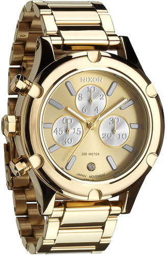 Nixon 'The Camden Chrono' Bracelet Watch
