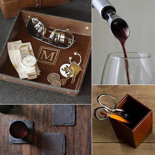 For thoughtful, practical gifts the groom will love (and actually use), consider these handsome home accents and accessories over on POPSUGAR Home.