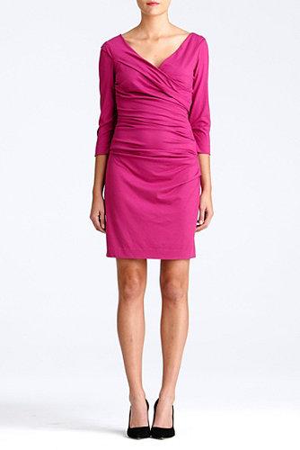 Bentley Short Dress In Gardenia