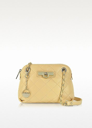 DKNY Nude Quilted Leather Shoulder Bag