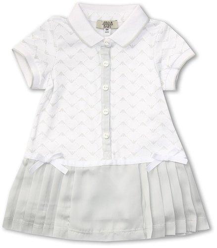 Armani Junior - Dress (Infant) (White) - Apparel