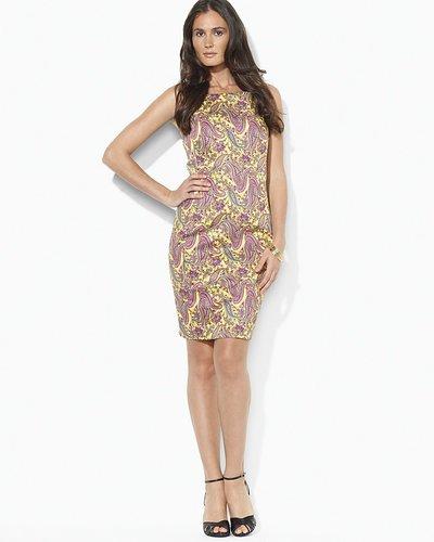 Lauren Ralph Lauren Petites Sleeveless V-Back Dress