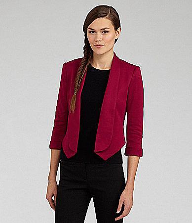 Aryn K. Ponte Tuxedo-Style Jacket