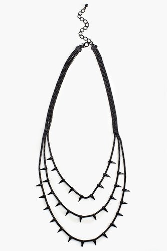 Blackout Spike Necklace