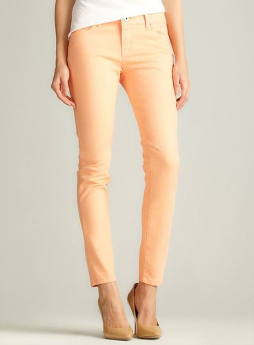 Velvet Heart Skinny Jean, Light Orange
