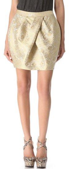 Vera wang collection Tulip Skirt