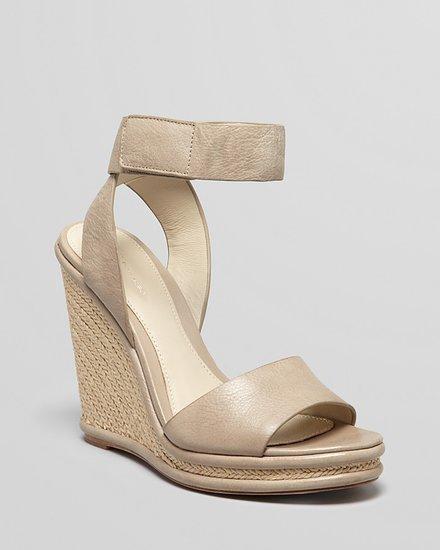 Elie Tahari Espadrille Platform Wedge Sandals - Cassandra
