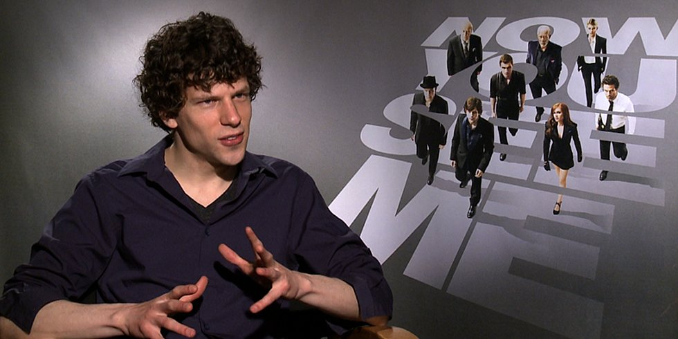 Jesse Eisenberg Says He Studied David Blaine and David Copperfield For His Now You See Me Role