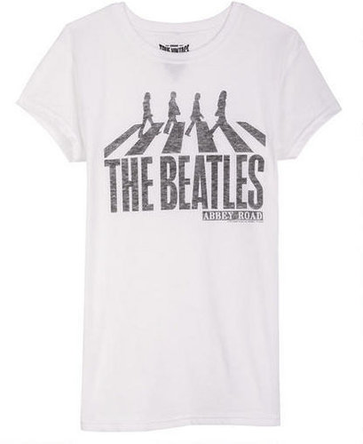 Junkfood The Beatles Abbey Road Tee