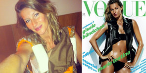 Gisele Says No to Retouching and Shows Off Her Post-Baby Body
