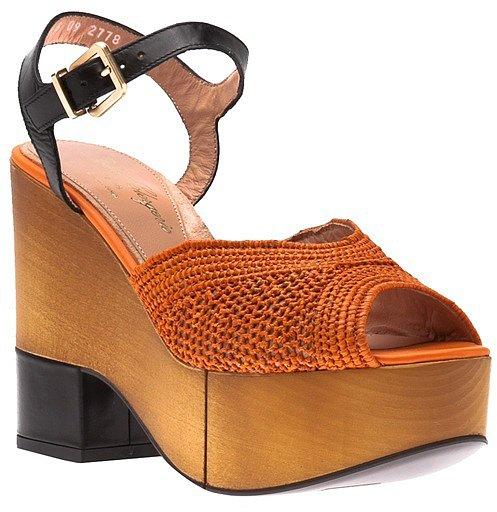 Robert Clergerie Dress Wedge Sandal