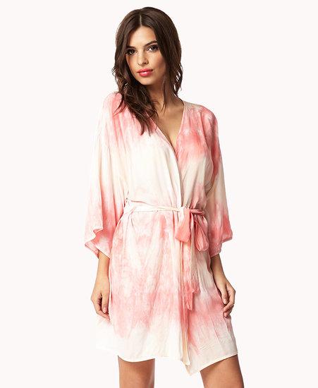 FOREVER 21 Tie-Dye Robe