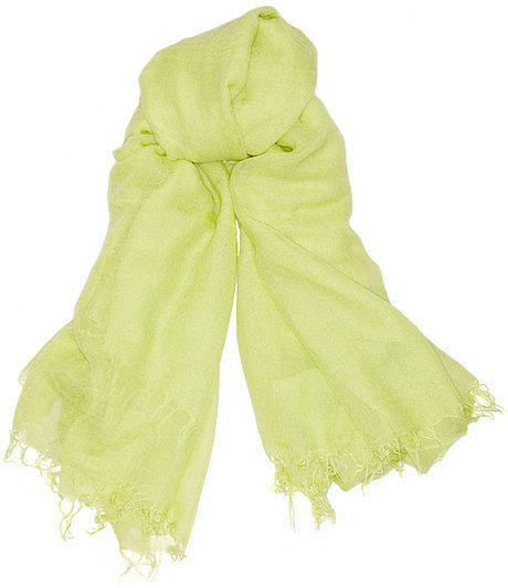 Chan Luu Cashmere and silk-blend scarf