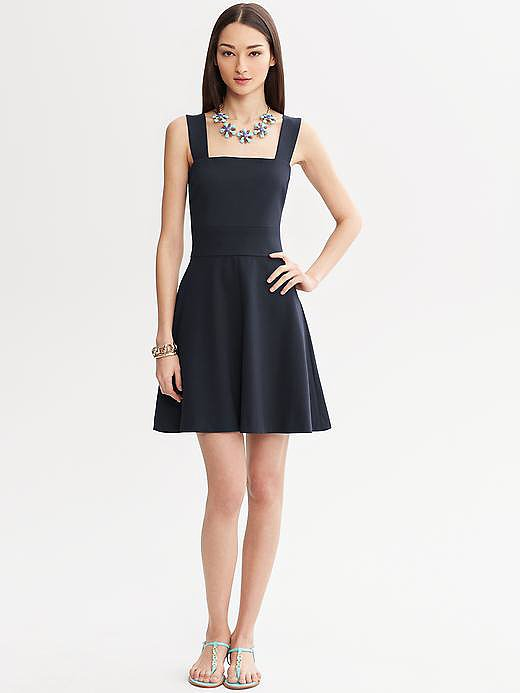 We could think of about a million occasions for — and a million ways to style —this Fit and Flare Dress ($140).