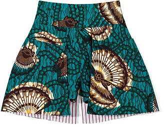 Skort? Did I read that correctly? Oh yes, you did, friends — this shell-print Stella Jean skort ($435) tops my Summer must-have list tenfold. After styling it with a white tee and black cage sandals, I'll be ready to hit the monkey bars without a care in the world — if I so chose.  — MV