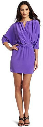 Twelfth St. by Cynthia Vincent Women's Cross Front Mini Dress