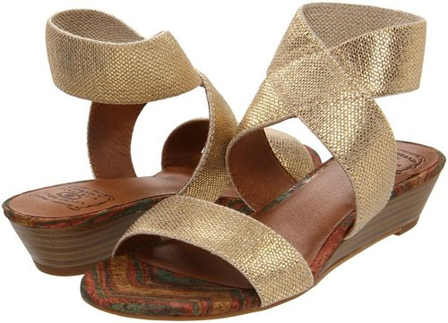 Lucky Brand - Hunter (Natural/Gold) - Footwear