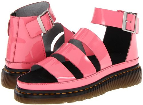 Dr. Martens - Clarissa Chunky Strap Sandal (Black) - Footwear