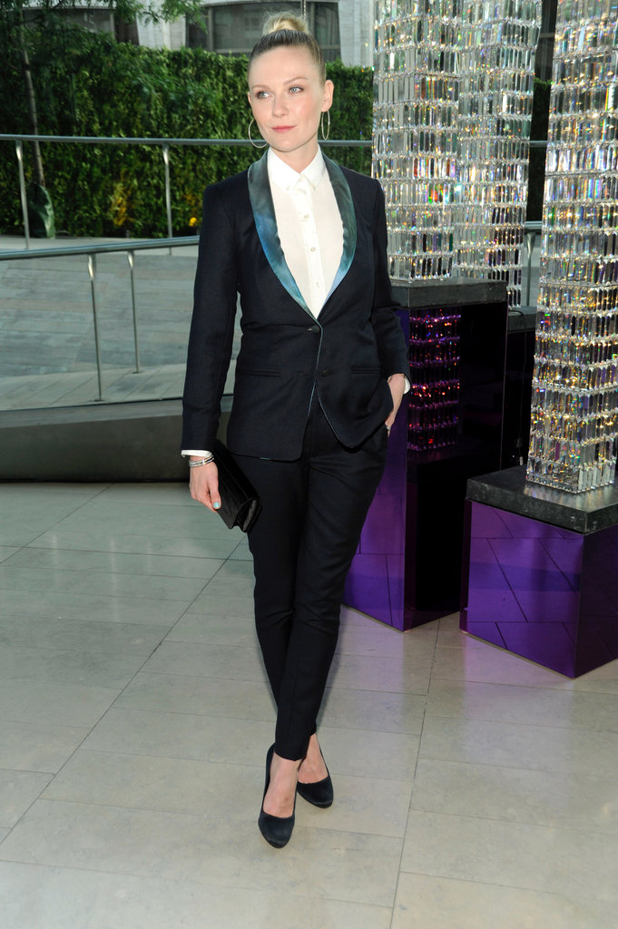 The same year saw Kirsten Dunst eschew sexy minidresses and dramatic gowns in favour of an expertly tailored tux.