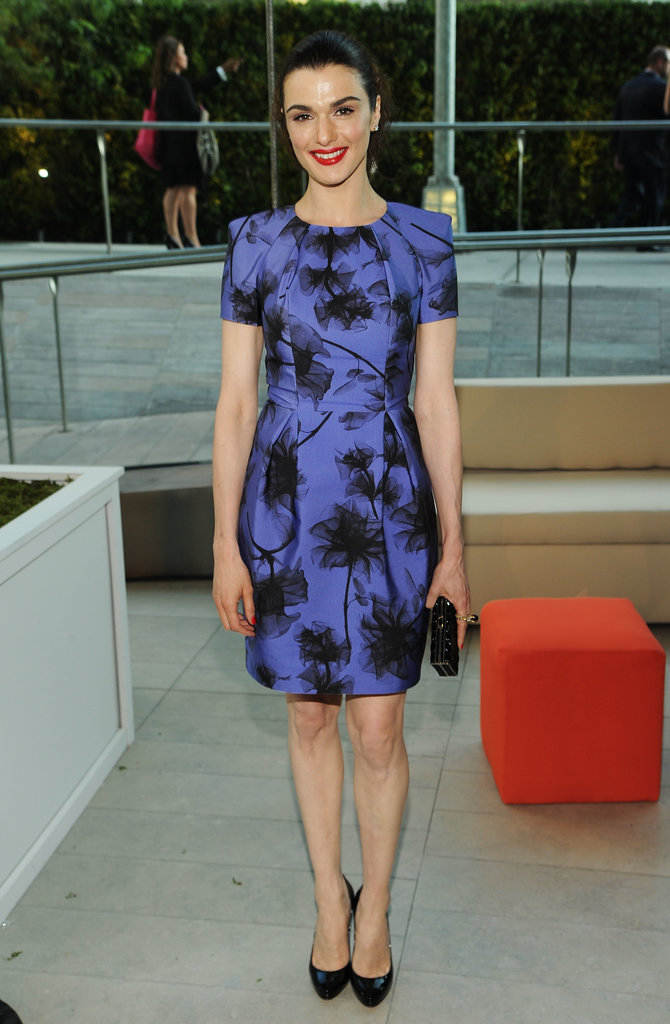 At the 2010 event, Rachel Weisz picked a demure, short-sleeved, floral Jason Wu dress.