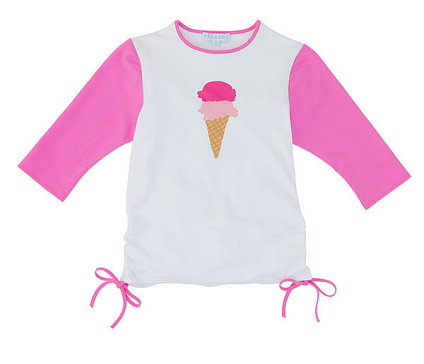 I scream, you scream, we all scream for Parasol's Ice Cream Ruched Top ($65)!