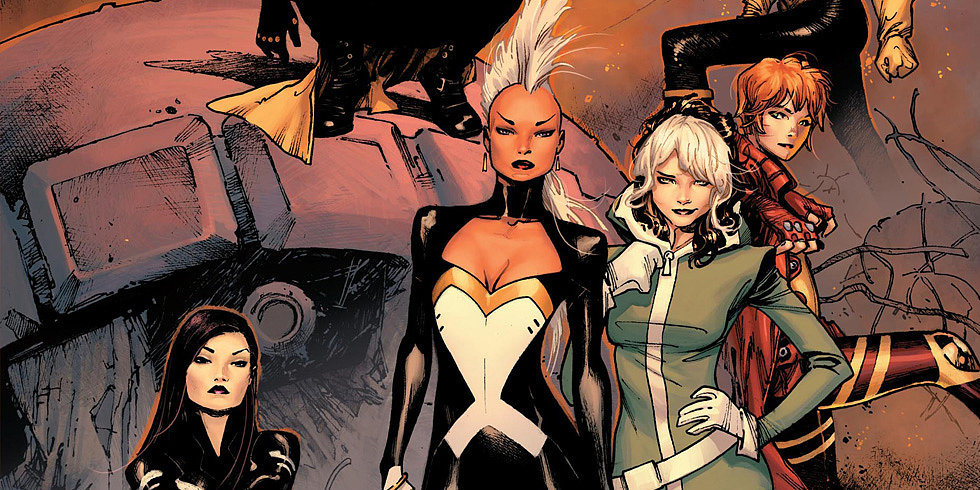 Storm and Rogue Lead Marvel's All-Female X-Men Series