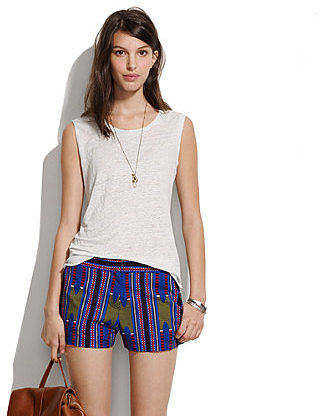 Les prairies de paris&TM printed shorts