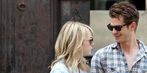 Andrew Garfield and Emma Stone Walk Hand in Hand Into the Weekend