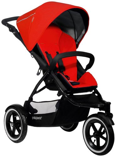 phil&teds Navigator Buggy - Cherry