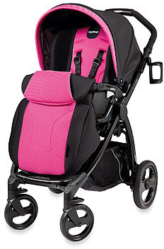 Peg Perego® Book Plus Reversible Stroller - Fuchsia