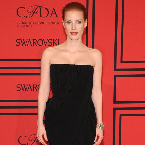 Jessica Chastain Dress at CFDA Awards 2013