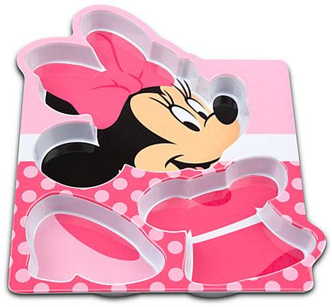 Polka Dot Minnie Mouse Plate