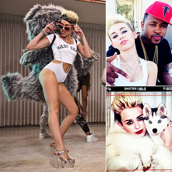 Go Behind the Scenes on Miley Cyrus's Sexy (and Silly) New Music Video