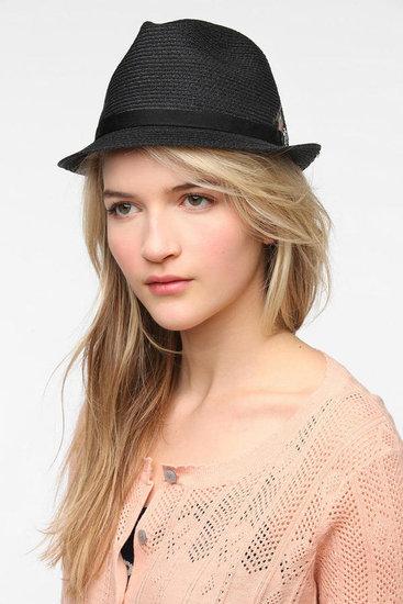 Christys' Hats Straw Fedora Hat