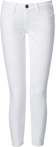 Current/Elliott The Stiletto White 7/8 Jeans