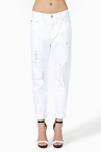 Ex Boyfriend Jeans - White