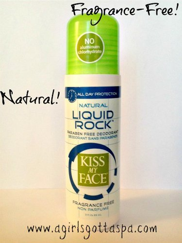 Kiss My Face Liquid Rock Deodorant review