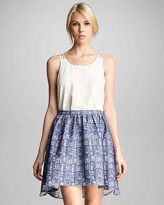 Patterson J. Kincaid Wendy Hi-Low Skirt