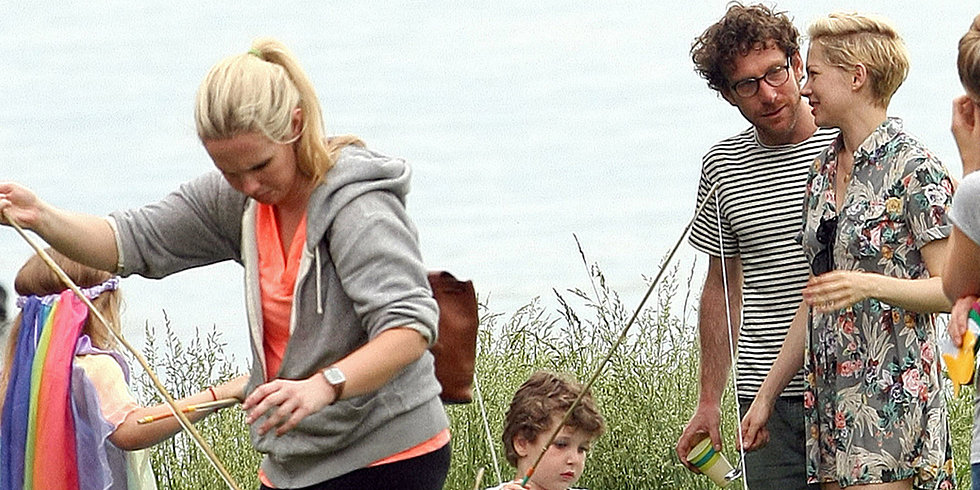 Michelle Williams and Her New Man Party at a Park With Matilda