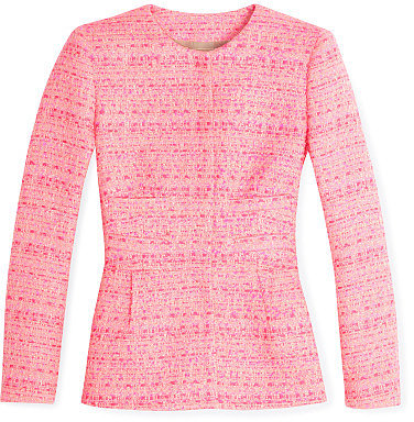 Giambattista Valli Hot Pink Tweed Jacket