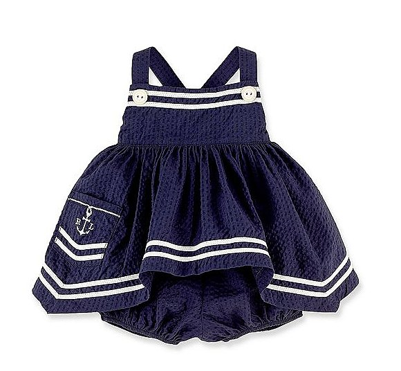 Nautical Tunic and Bloomers