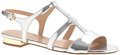 Allie metallic gladiator sandals