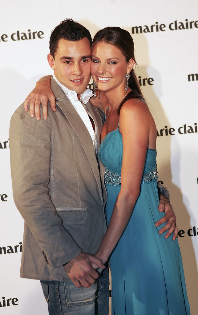 Jake and Jennifer celebrated Marie Claire's 10th birthday in Sydney in Aug. 2005.